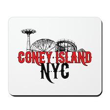 Coney Island NYC Mousepad