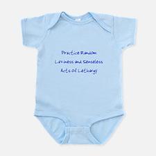 Laziness & Lethargy Infant Bodysuit