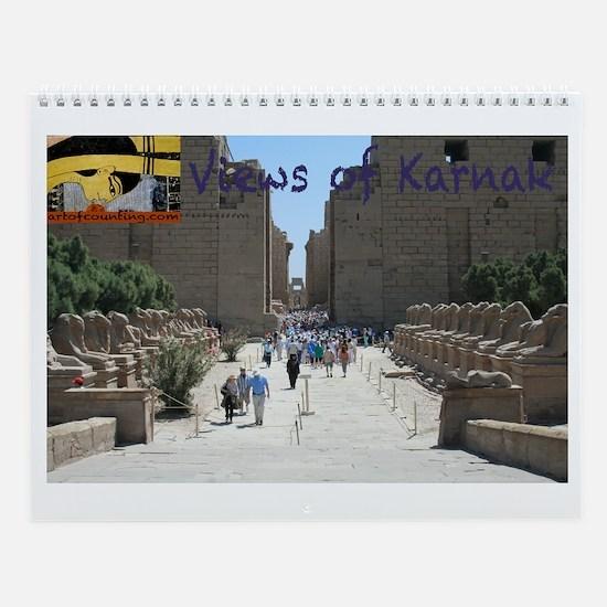 Views of Karnak--Wall Calendar