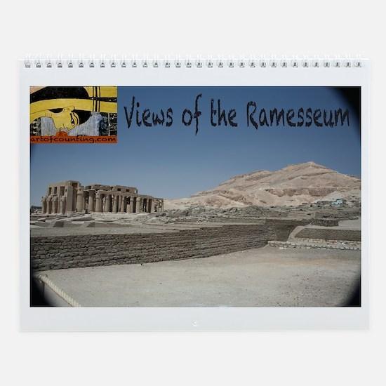 Views of the Ramesseum--Wall Calendar