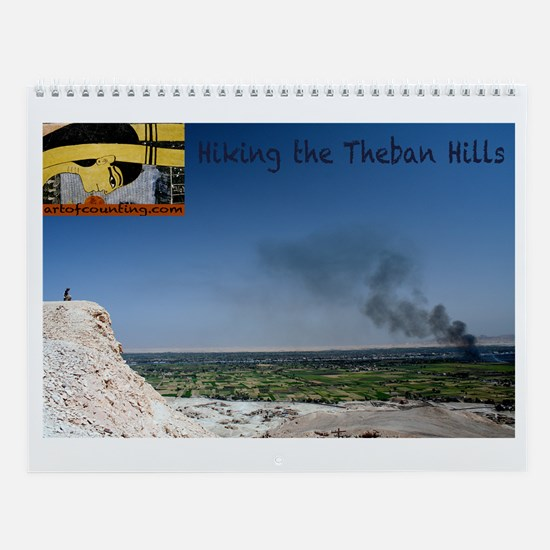 Hiking in the Theban Hills--Wall Calendar