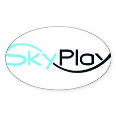 SKYPLAY Sticker (Oval 10 pk)