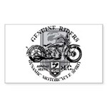 Bikers Sticker (Rectangle)