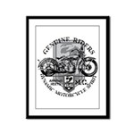 Bikers Framed Panel Print