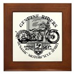 Bikers Framed Tile