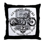 Bikers Throw Pillow
