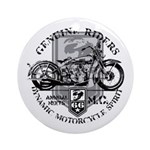 Bikers Ornament (Round)