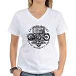 Bikers Women's V-Neck T-Shirt
