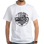 Bikers White T-Shirt