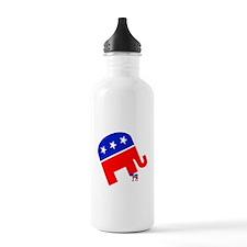 Republicans Stomp Democrats Water Bottle