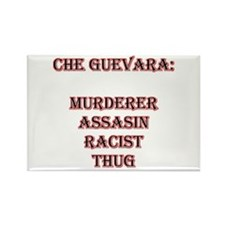 """Che Guevara, the pig in """"Bay Rectangle Magnet"""