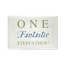 One Fantastic Stepfather Rectangle Magnet