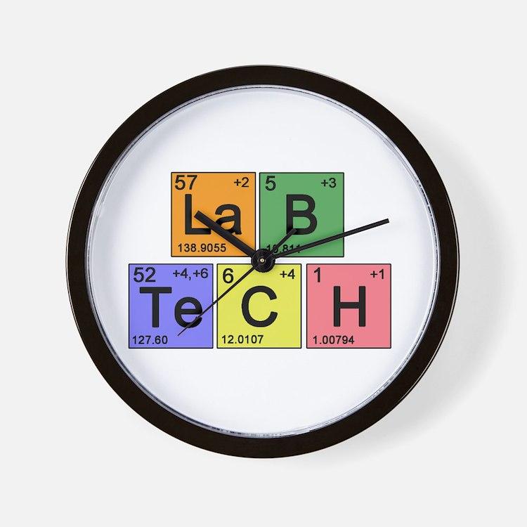 LaB TeCH Color Wall Clock