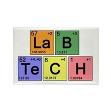 LaB TeCH Color Rectangle Magnet