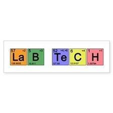 LaB TeCH Color Bumper Sticker