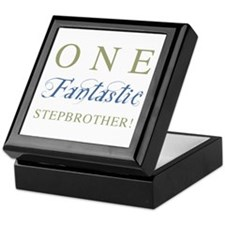 One Fantastic Stepbrother Keepsake Box