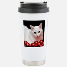 Xmas Cat Travel Mug