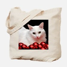 Xmas Cat Tote Bag