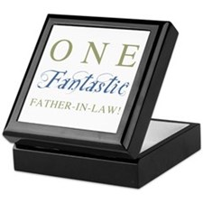 One Fantastic Father-In-Law Keepsake Box