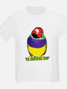 Gouldian Finch Kids T-Shirt