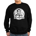 Recalculating Man Sweatshirt (dark)