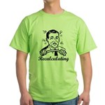 Recalculating Man Green T-Shirt