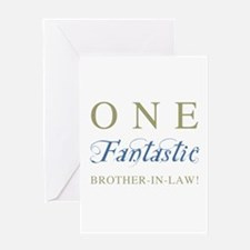 One Fantastic Brother-In-Law Greeting Card
