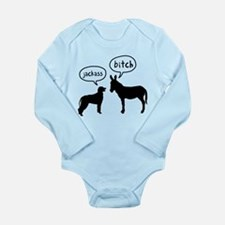 Irish Wolfhound Long Sleeve Infant Bodysuit