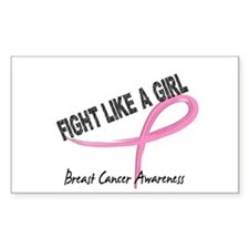 Licensed Fight Like a Girl 7.3 Stickers