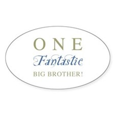 One Fantastic Big Brother Decal