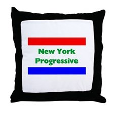 New York Progressive Throw Pillow
