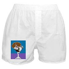 Beagle Martini Boxer Shorts