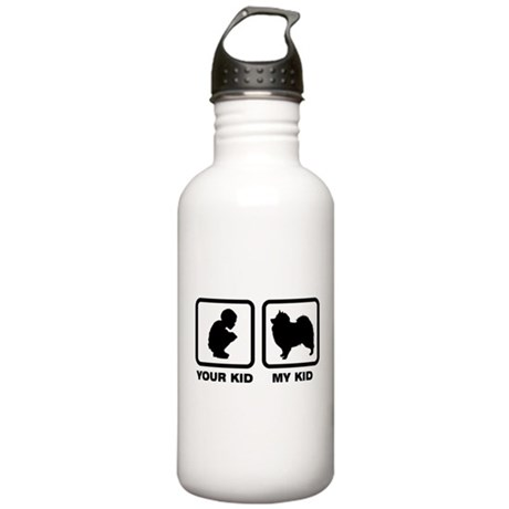 Keeshond Stainless Water Bottle 1.0L