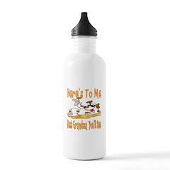 Cheers For Grandma Water Bottle