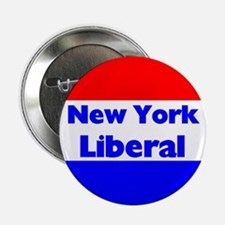 New York Liberal Button