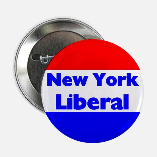 New York Liberal Button