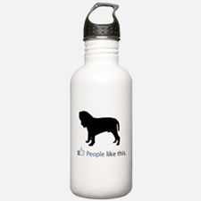 Neapolitan Mastiff Water Bottle