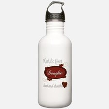 Cherished Daughter Water Bottle