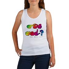 Got ASL? Rainbow SQ CC Women's Tank Top