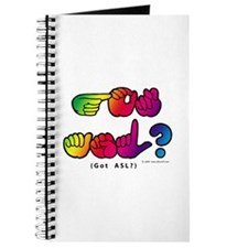 Got ASL? Rainbow SQ CC Journal