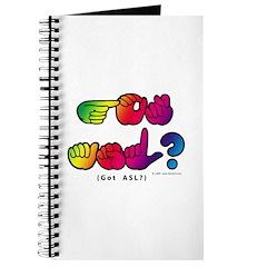 Got ASL? Rainbow SQ CC Journal