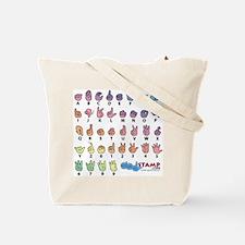 Got ASL? Pastel SQ Tote Bag