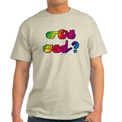 Got ASL? Rainbow SQ T-Shirt