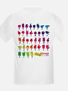 Got ASL? Rainbow SQ T-Shirt