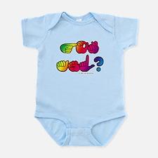 Got ASL? Rainbow SQ Infant Bodysuit