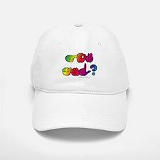 Got ASL? Rainbow SQ Baseball Baseball Cap
