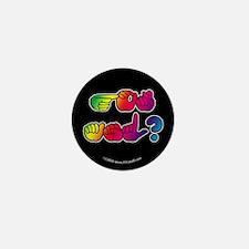 Got ASL? Rainbow SQ Mini Button