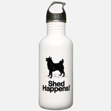 Norwegian Elkhound Sports Water Bottle
