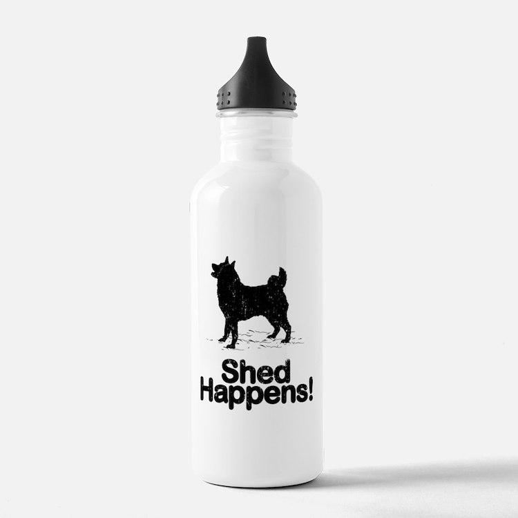 Norwegian Elkhound Sports Water Bottle