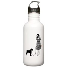 Miniature Schnauzer Sports Water Bottle